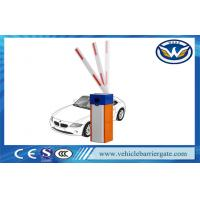 Wholesale Vehicle Security Parking Lot Barrier Gate , Barrier Boom Gate Blue And Orange from china suppliers