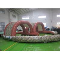 Wholesale Durable Inflatable Outdoor Games Racing Track For Promotional / Entertainment from china suppliers