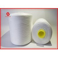 Wholesale Abrasion - Resistant Raw White Polyester Yarn On Hollow Plastic Dyeing Tube from china suppliers