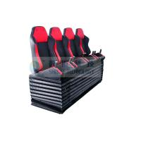 Wholesale Dynamic Cinema Seat / Movie Theater Chairs With Push Back , Electrical Vibration from china suppliers
