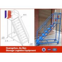 Wholesale Rolling Steel Truck Step Ladder Warehouse Storage Handcart With Wheels from china suppliers