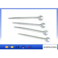 Wholesale 280 - 520mm Length Tower Erection Tools , Light Weight Sharp Tail Open - End Wrench from china suppliers