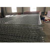 Wholesale 6 foot  x 10 foot chain link temporary mesh fence 1-1/4 inch pipes ,mesh 2-3/8 inch x 11.5 gauge wire from china suppliers