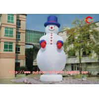 Wholesale Outdoor Christmas Inflatable Snowman With Professional Printing Logo from china suppliers