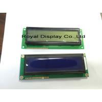 Wholesale STN 16x2 Character Lcd Display Module White LED Backlight RYB1602B from china suppliers