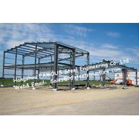 Wholesale Black Prefabricated Steel Buildings , Structural Steelworks Building Australia New Zealand Standard from china suppliers