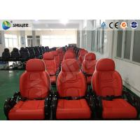 Wholesale Red And White Color 5D Movie Theater  Seats With Large Screen And 7.1 Audio System from china suppliers