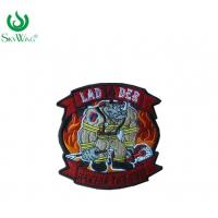 Wholesale Colorful Sweatshirt Custom Woven Patches / Stick On Sewing Patches On Shirts from china suppliers