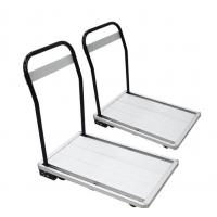 Quality Adjustable Folding Utility Storage Stainless Steel Cart With Wheels for sale