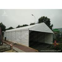 Wholesale Wind Resistant Aluminium Frame Tents Waterproof White PVC Textile Cover from china suppliers