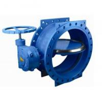 Wholesale 125 lbs / 200psi Double Eccentric / flange Butterfly Valve with HandWheel from china suppliers