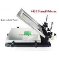 Buy cheap Desktop SMT Manual Pick And Place Machine 320*440mm Stencil Printer Silk screen printer from wholesalers