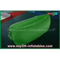 Wholesale Outdoor Beach Inflatable Sleeping Air Bag Colorful Lazy Air Couch 200cm X 90cm from china suppliers
