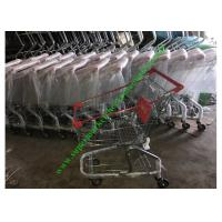 Wholesale Zinc And Powder Coating Supermarket Shopping Cart / Steel Mesh Hand Trolley from china suppliers