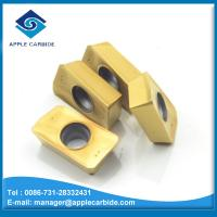 high quality solid carbide milling cutter for stainless steel /milling and turning carbide inserts APMT /APK