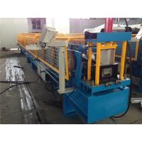 Wholesale 3T Manual Decoiler Gutter Roll Forming Machine 320mm Coil Width from china suppliers