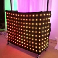 Wholesale 1 x 2m Rgb 3in1 Colorful LED Video Curtain , Professional Decoration LED Light Curtain from china suppliers