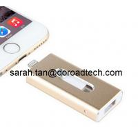 Wholesale U-disk i-Flash Drive OTG USB Flash Drives U Disk for Apple Devices, Real Capacity from china suppliers