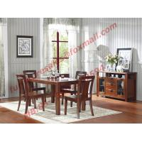 Wholesale High Quality Solid Wooden Furniture Dining Table with Chair from china suppliers