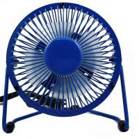 Buy cheap promotional gift 2.5W air cooling metal USB fan for any occasions and seasons from wholesalers