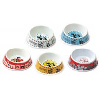 Wholesale Pet Melamine Dog Cat Bowl Oblique Rim Washable Lightweight Food Grade from china suppliers
