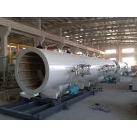 Quality CE ISO Certificated Plastic Pipe Extrusion Manufacturing Machine High Speed for sale