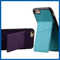 Wholesale TPU Back Stand Cell Phone Leather Cases iPhone 6S Credit Card Slots Holder from china suppliers
