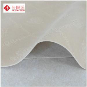 Wholesale Shrink-Resistant Soft Velvet Flock Fabric , Knit Velvet Fabric For Upholstery from china suppliers