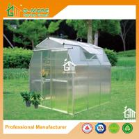 Wholesale 6'x6'x6.7'FT Silver Color Easy DIY Barn Style Garden Greenhouse from china suppliers