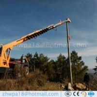 Wholesale Competitive price Pole Erection Machine Tractor Mounted Crane from china suppliers