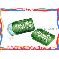 Wholesale Spearmint Flavor Slide Tin Box Candy With Xylitol Fresh Breath from china suppliers