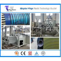 Wholesale Plastic Winding Corrugated Pipe Machine , Krah Pipe Production Line from china suppliers