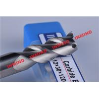 Wholesale HRC50 8mm / 10mm / 12mm Aluminium End Mill 3 Flute No Coating 45º Helix Angle from china suppliers