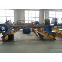 Buy cheap Stable CNC Plasma machine / CNC Cutting Machines 5500mm Transverse Gauge from wholesalers