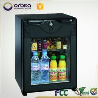 Wholesale 40 liter silent working hotel auto minibar battery powered mini fridge from china suppliers