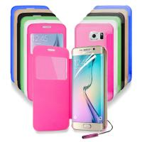 Wholesale Transparent Clear Back Cell Phone Protective Cases For Samsung Galaxy S6 Edge G9250 from china suppliers