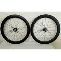 Wholesale 60mm Clincher Carbon Track Wheelset Fixex Gear Hub Type Environmental Friendly from china suppliers