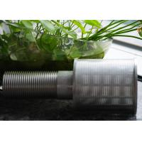 Wholesale Professional Stainless Steel Nozzles Thread Coupling For Sand Control from china suppliers
