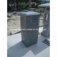 Wholesale Grey Granite Garden Pillar from china suppliers