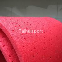 Wholesale Red Rubber Artificial Turf Shock Pad Fire Resistant IEC62321 Standard from china suppliers