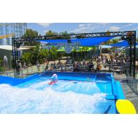 Wholesale Two Surfers Flowrider Water Ride Novel Water Attractions For Relieved from china suppliers