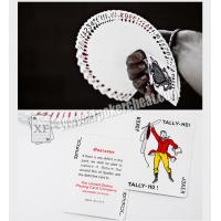 Paper Tally Ho Invisible Playing Cards For UV Contact Lenses Magic Tools
