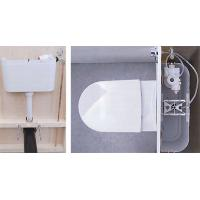 Wholesale Ceramic sanitary ware Bathroom sanitary Bathroom bowl Space saving Bathroom ceramic wall mount toilet from china suppliers