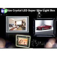 Wholesale Crystal LED Backlit Display Frame LED Panel Light Box For Hotel Decorative from china suppliers
