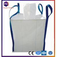 Quality jumbo bag 1500kg 100 % polypropene FIBC bag with top filling spout for salt pp pe suger for sale