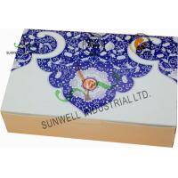 Wholesale Both Sides Printing Cardboard Food Packaging Boxes , Mooncake Display Packaging Box from china suppliers