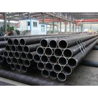 Wholesale PE BE Coated ERW Steel Pipe Welded BS1387 For Hydraulic Pipline , 3m - 12m Length from china suppliers