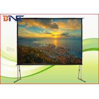 Wholesale Portable Rear Projection Projector Screen , 150 Inch 4:3 Fast Fold Projection Screen from china suppliers