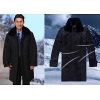 Winter Dark Color Security Guard Uniform Wind Resistant With Two Pieces Set for sale