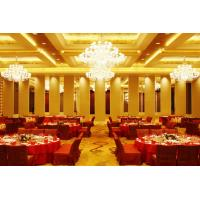 Wholesale Leather Acoustic Panel Finished Movable Folding Wooden Partition Walls for Hotel from china suppliers